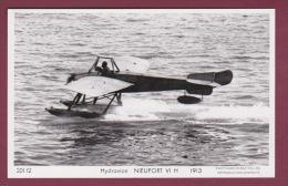 AVIATION - 280215 - PHOTO MARIUS BAR TOULON - HYDRAVION - NIEUPORT VI H 1913 - Avions