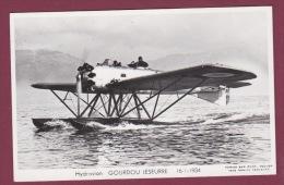 AVIATION - 280215 - PHOTO MARIUS BAR - HYDRAVION GOURDOU LESEURRE 16.1.1934 - Avions