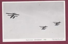 AVIATION - 280215 - PHOTO MARIUS BAR - HYDRAVION LEVASSEUR 1935 - Avions