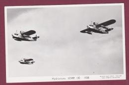 AVIATION - 280215 - PHOTO MARIUS BAR - HYDRAVIONS LOIRE 130 1938 - Avions
