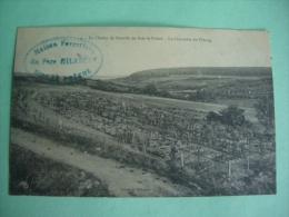 Bois Le Pretre 54 WW1 1914 1918 Champ De Bataille BRUNET MESNIL ST PERE 10 MAPS POSTKARTE CARTOLINA - Cimiteri Militari