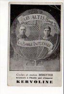 """Spectacle Forain Ou  Cirque  """" Les Altis """"  Dans La Boule Infernale / Cycles & Motos Deruyter (graissée à La Kervoline ) - Cirque"""