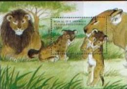 COMORES  LIONS    BLOC   NEUF**   1/98-03 - Felini