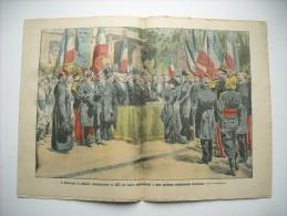 LE PELERIN 1840 de 1912.A MONTROUGE, MEDAILLE COMMEMORATIVE DE 1870. CARICATURE ANTICLERICALE. CONCOURS HYDRO-AEROPLANE
