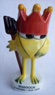 RARE FIGURINE MAXI FEVE EN PORCELAINE SHADOK - ROUXEL 1999 - SHADOKS - Figurines