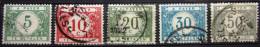 BELGIQUE         Taxe 26/31                 OBLITERE - Briefmarken