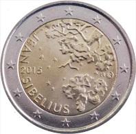 FINLAND - 2 € COM. 2015 UNC  - 150e VERJAARDAG GEBOORTE JEAN SIBELIUS - Finland