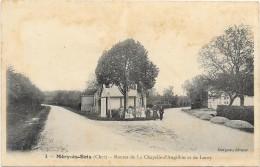 MERY ES BOIS: ROUTE DE LA CHAPELLE D'ANGILLON ET DE LOROY - Francia
