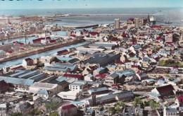 50 Manche Cherbourg Vue Générale Paquebot Queen Mary En Gare Maritime - Cherbourg