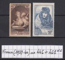 France (1939-40) Musée Postal N° 446 + Guynemer N° 461 Neufs ** à 20% De La Cote - Nuovi