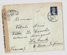 TURQUIE - ANKARALSE – Tarif « FRANCE » à 12,50Kr.Yv.N°815 – 12 ½ Kr.  Atatürk  (Emis. 193 - 1921-... Republiek