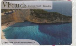 GREECE - Zakynthos Island, VF Promotion Prepaid Card, Tirage 50, Mint - Landschappen