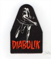 Diabolik R N,470 Gadgets 5ª Calamita Gagliardetto Diable Noir N,1 - Diabolik