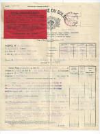 Contrat Assurance Bordeaux JAMON Chateau De Lartigolle PESSAN Par Auch 32 - 1928 - Banque & Assurance