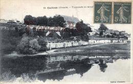 (33) Guitres - Promenade En Terrasse - 2 SCANS - France