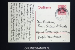Germany : Levant Postcard Constantinopel To Germany