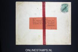 Germany : Levant Umslag From Jeruzalem To Osnabruck  Germany 1911