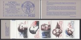 PRIX NOBEL PRIZE NOBELPREIS PEACE OSSIETZKY  M.L.KING MOTHER TERESA SUTTNER  SWEDEN 1986 BOOKLET MI MH 118 1413 - 1417 - Premio Nobel