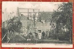 BELGIQUE - PONDRÔME - MAISON COLLOT EN CONSTRUCTION - Edition Collot à Pondrôme - - Autres