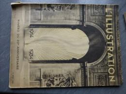 L'ILLUSTRATION Guerre 1914-18 num�ro du 20 �me anniversaire, 1934, ref 676