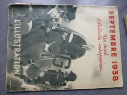 L'ILLUSTRATION septembre 1938, un mois d'histoire europ�enne, hors s�rie ACCORDS DE MUNICH,  ref 675