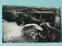 Barrage De Genissiat - Saut De Sli Au Débouché De L'évacuateur Rive Droite - Génissiat