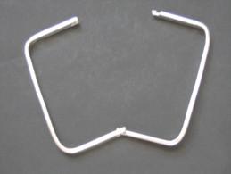 Bracelet JONC Type Carré  , En Argent 925  ***** EN ACHAT IMIMEDIAT  **** - Bracciali