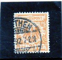 B - 1889 Germania - Impero - Aquila - Usati