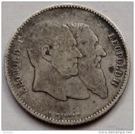 Belgique - 1 Franc Et 2 Francs - 1830 1880 - Argent - Unclassified