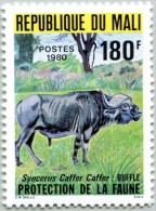 N° Michel 748 (N° Yvert 362) - Timbre Du Mali (MNH) (1980) - Syncerus Caffer (JS) - Mali (1959-...)