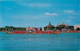 BANGKOK THE ROYAL BARGES PROCESSION  VOIR LES 2 SCANS - Thaïlande