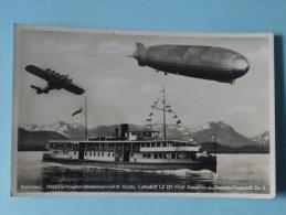 ALLEMAGNE,BODENSEE - Doppelsschrauben Allgau , Luffschiff LZ 127, Graf Zeppelin U.Dornier-Flugschiff Do X - Allemagne