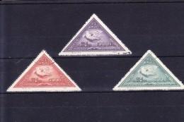 CN1-04 1951 Year, MICHEL # 113II-115II. USED.