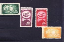CN1-04 1952 Year, MICHEL # 192-195 **.