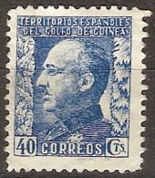 Guinea 261 (*) Franco. 1940. Sin Goma - Guinea Espagnole