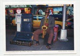 USA  - AK 222200 New York - Strassenmusiker Am Times Square - Time Square
