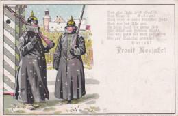 1907 D. Reich, MILITARIA EF, SELTENERE Karte. gelaufen. MK