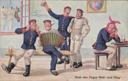 1903 D. Reich, MILITARIA EF, SELTENERE Karte. gelaufen Schleswig/Seefeld. MK