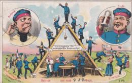 1913 D. Reich, MILITARIA EF, SELTENERE Karte Reserve, gelaufen nach Affwinkel bei Visselh�vede MK