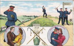 1913 D. Reich, MILITARIA EF, SELTENERE Karte Reserve, gelaufen Schleswig/Bornh�ved. MK