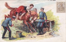 1903 D. Reich, MILITARIA SELTENERE Karte, nicht gelaufen. MK
