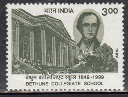 India MNH 1999, Bethune Collegiate School, Education, Born Ealing, England Great Britain, Lawyer. Poet, - Inde