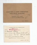Convocation à Une Consultation Et Son Enveloppe , Dispensaire Antituberculeux De TOULON , Var , 1938 - Old Paper