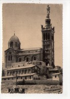 CP 10*15/Y1202/MARSEILLE NOTRE DAME DE LA GARDE 1945 - Notre-Dame De La Garde, Ascenseur