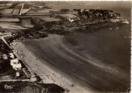 C P S M-C P M---35---CANCALE---vue Aérienne-port Mer Et La Plage----voir 2 Scans - Cancale