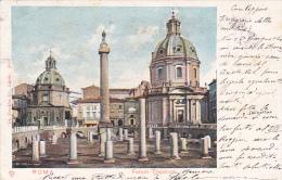 Italy Postcards 1902 Roma - Forum Trajanum Used - Used