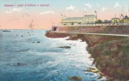 Italy Postcards 1936 Genova -Lido D'Albaro E Marosir Used - Used