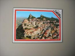 SAINT MARIN REPUBLICA DI SAN MARINO VEDUTA AEREA DEL MONTE TITANO - San Marino