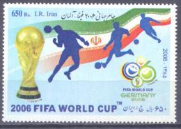 2006. Iran, FIFA World Cup, 1v, Mint/**