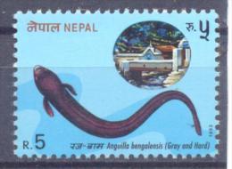 1993. Nepal, Gray And Hard,1v, Mint/** - Nepal
